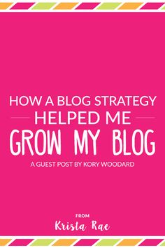 Ever wonder if a blog strategy will actually help your business move forward? Learn what it did for one dedicated blogger and business owner!