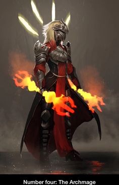 Number four: The Archmage