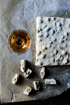 honey lavender nougat