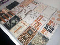 David Pearson's Type as Image exhibition at London's Kemistry Gallery features some beautiful typographic book covers