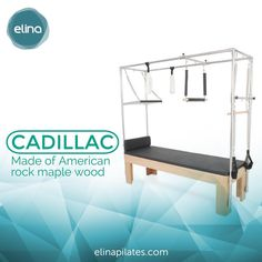 "7 Me gusta, 1 comentarios - Elina Pilates (@elinapilatesus) en Instagram: ""Made of American rock maple wood.  These machines are very durable and safe, with all the…"" Pilates Equipment, Rock, American, Bed, Instagram Posts, Furniture, Home Decor, Decoration Home, Stream Bed"