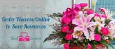 Order Flowers Online for Your Own Convenience | bookthesurprise http://blog.bookthesurprise.com/order-flowers-online-to-save-resources/ #online #flowers #party #garden #gift #giftidea #nature #art #bookthesurprise