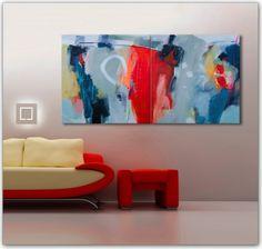 Maleri «Double-Creation» i interiør