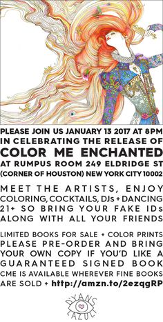 Color Me Enchanted - new book by Masha D'yans + Gala Lazuli