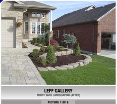 TLC.CA PROFESSIONAL LANDSCAPING . LONDON ONTARIO CANADA || PROJECT GALLERY - FRONT YARD LANDSCAPING - LEFF GALLERY