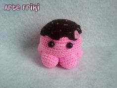 pulpo octopus amigurumi patron gratis free pattern crochet ganchillo plush muñeco peluche