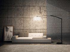 Vibia, Balance, vloerlamp, licht, verlichting, interieur, lamp, Eikelenboom  Vitra Polder sofa