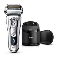 Brand: BraunColor: SilverFeatures: World's most efficient electric shaver*. Efficient, close and gentle, for a flawless shave Best efficiency: 5 shaving elements get more hair in one stroke than any other shavers Best for gentleness: sonic vibrations glide over your skin for maximum skin comfort Use wet or dry. Now with 20% more battery power** Product designed, engineered and made in Germany. Recommended by GQ and the Skin Health Alliance accredited *Tested on 3-day beard vs. leading premium ti Best Electric Razor, Best Electric Shaver, Electric Razors, Gq Magazin, Best Shavers, Shaver Shop, Braun Shaver, Head Shaver, Foil Shaver