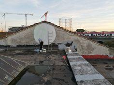 """Roma, al via """"Re-visioni"""": street art alla mostra-mercato di Testaccio"""