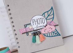 """Inspiration Création Blog: Mini album """"18 mois en photo"""", avec le kit mensuel, par Opsite"""