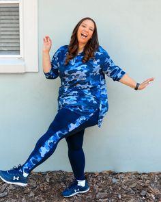 Navy Camo Print Activewear – Estrella Fashion Report