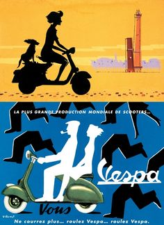 I want to go to Italy and ride around with my scarf flapping in the wind on a Vespa!!