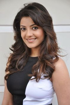 Tamil lovely movie actress Kajal agarwal latest hot wallpapers-9's cute photo