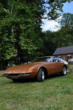 1972 Ferrari 365 GTB/4 Daytona at Classic Days Schloss Dyck 2012
