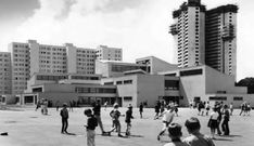 """germanpostwarmodern:  """"Walt Disney Elementary School (1968) in Berlin, Germany, by Gerd Hänska  """""""