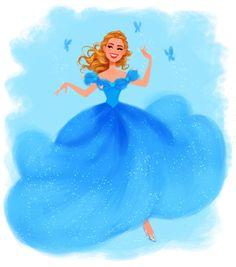 Cinderella - Ballgown by DylanBonner on DeviantArt