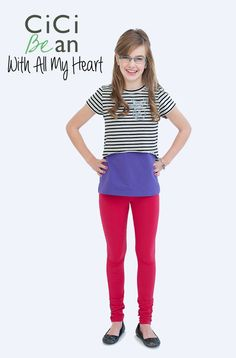CiCi Bean's With All My Heart collection | CiCi Bean - clothing for tween girls. | Shop online at www.peekaboobeans.com/Jenn