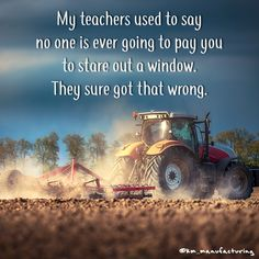 Isn't this the truth? #tbt #spring #farmlife #tractor #childhoodmemories
