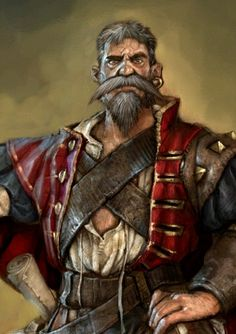 Walter Beck portrait from Fable III.
