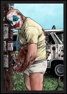 John Wayne Gacy is Card Number 51 from the New Serial Killer Trading Cards by SerialKillerBiz on Etsy