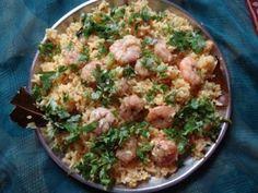 Malvani prawn rice recipe..its really tasty.