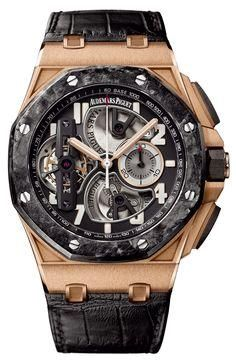 Discover a large selection of Audemars Piguet Royal Oak Offshore Tourbillon Chronograph watches on - the worldwide marketplace for luxury watches. Compare all Audemars Piguet Royal Oak Offshore Tourbillon Chronograph watches ✓ Buy safely & securely ✓ Audemars Piguet Watches, Audemars Piguet Royal Oak, Stylish Watches, Luxury Watches For Men, Fine Watches, Cool Watches, Men's Watches, Fashion Watches, Men's Fashion
