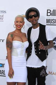 Amber Rose and Wiz Khalifa: Expecting! - The Hollywood Gossip