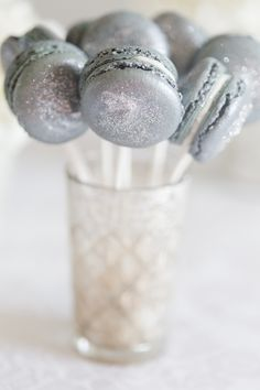 Silver Wedding Inspiration | Silver Desserts