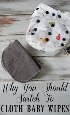 If you've decided to cloth diaper then you might want to think about using cloth baby wipes as well! It actually makes using cloth diapers even easier (no more accidentally laundering disposable baby wipes!) Learn all the benefits of using cloth wi Cloth Baby Wipes, Used Cloth Diapers, Cloth Nappies, Storing Baby Clothes, Natural Teething Remedies, Natural Remedies, Eco Baby, Natural Parenting, Gentle Parenting