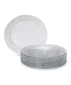 Take a look at this Ren Dessert Plate - Set of Eight by Godinger on #zulily today!