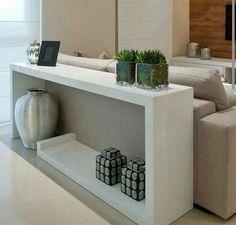 Mueble para atrás del sillón