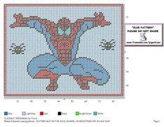 PLACEMAT * SPIDERMAN by TRICIA