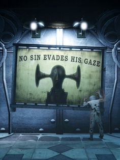 "Boy of Silence: ""No sin evades his gaze"" #bioshock #infinite"