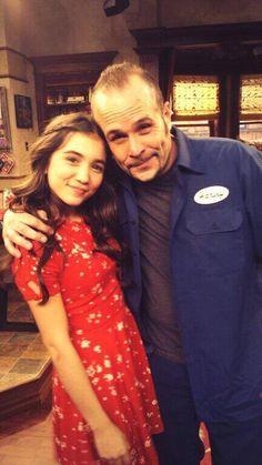 Janitor Harley and Riley