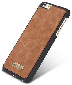 CaseMe iPhone 6S Plus/6 Plus Vintage Multifunctional Wallet Genuine Leather Case