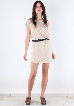 Shrug Au Natural Dress by Lamixx
