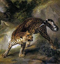 Leopard (1741) Jean-Baptiste Oudry