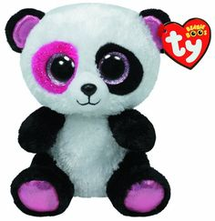 f2e5896c69b Amazon.com  Ty Beanie Boos Penny - Panda (Exclusive)  Toys   Games