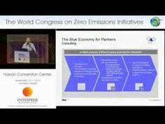 "Anne Kathrin Kuhlemann World Congress on Zero Emissions Initiatives -- Launching ""The Blue Economy"""