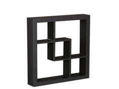 "Madison 16"" Display Shelf Black"