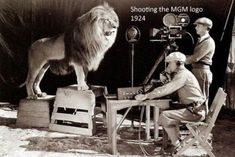 We've all seen the Metro-Goldwyn-Mayer lion that has roared at the beginning of many movies. Here's how it was shot! Shooting of the MGM Intro And here's the MGM logo over … Rare Historical Photos, Rare Photos, Rare Images, American Gothic, Salvador Dali, Iconic Movies, Old Movies, Famous Movies, Popular Movies