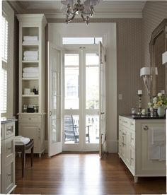 Charleston Master Bath   This Elegant Bathroom Opens Onto A Second Story  Piazza. Designed By
