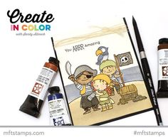 Mixing It up on Pirate Island: Watercoloring with Sandy Allnock