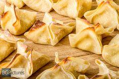 Healthy Eating Recipe - Baked Crabmeat Rangoon Wontons