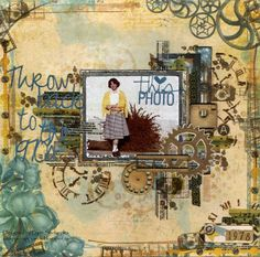 Layout designed by Lynn Shokoples featuring products from Bo Bunny and Scrapbook Adhesives by Heritage Scrapbooking, Scrapbooking Layouts, Vintage Scrapbook, Scrapbook Pages, Somewhere In Time, Happy Mom, Card Maker, Vintage World Maps, Paper Crafts