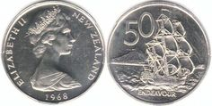 Decimal currency 50 cent piece