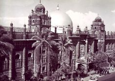 GPO Bombay, early 20th century (it has since burnt down)