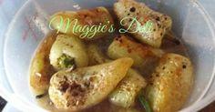 Fabulosa receta para Chiles güeritos fritos. Chiles güeros toreados