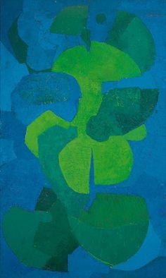 Pedro Coronel, Azul y verde