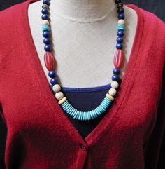 Collar de suroeste Boho Bohemia joyería collar por MacchiatoJewelry